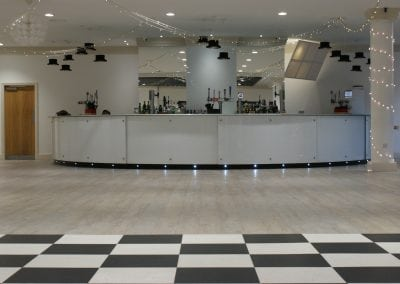 Glass Bar Front & Work Top