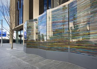 Outdoor Printed Glass